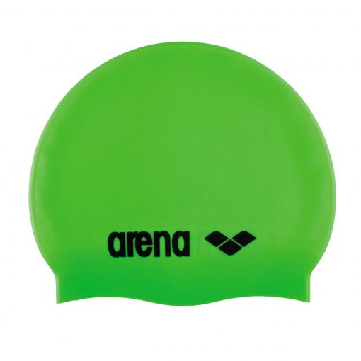 Arena Classic Silicone Badehætte (Lime-Sort)